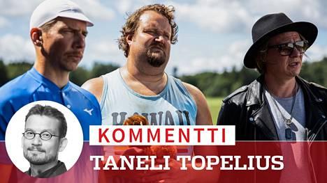 Nippe (Aku Hirviniemi), Antti (Sami Hedberg) ja Tuomas (Jaajo Linnonmaa) kohotetaan Renny Harlinin ohjaaman Luokkakokous-sarjan kolmannessa elokuvassa sankarin asemaan.