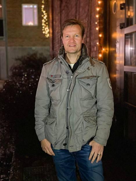 Joona Kolkka viettää joulun Suomessa.