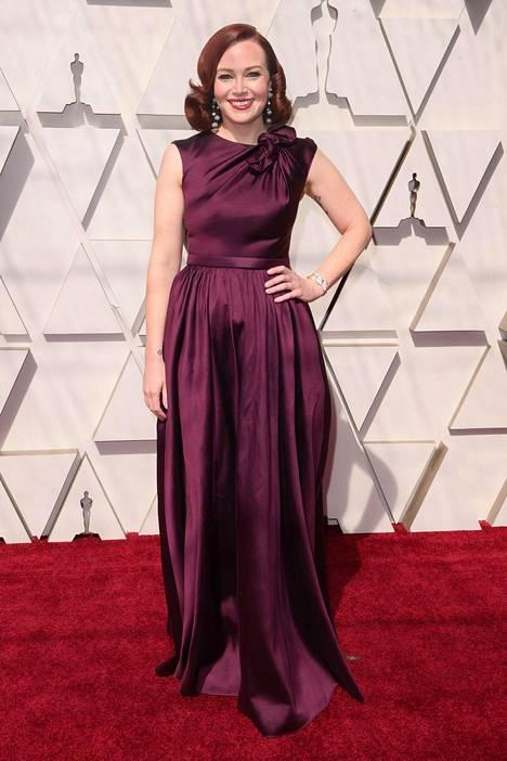 Elokuvatoimittaja, tuottaja ja kirjoittaja Alicia Malone.