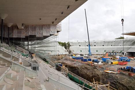 Stadionin remontin pitäisi valmistua vuonna 2019.