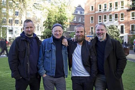Mika Eirtovaara (vas.), Simon Corble, Pasi Antero Remsu ja Juha Pihanen