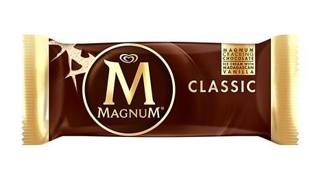 Magnum-jäätelöt kuuluvat ostetuimpiin.