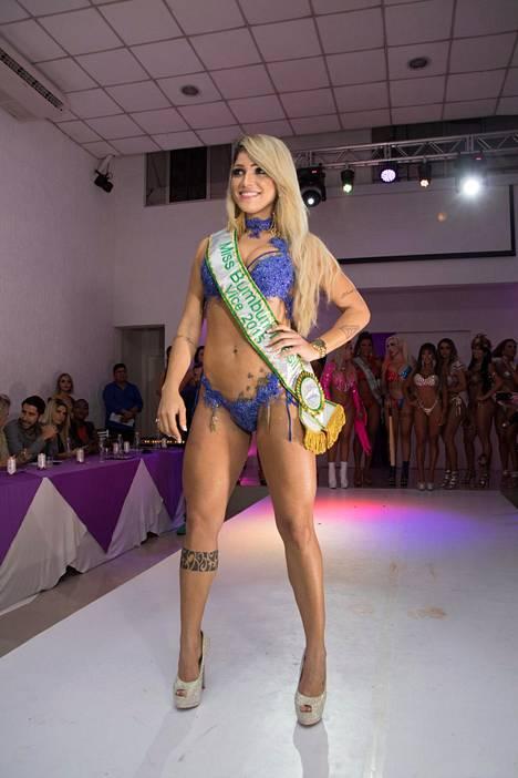 Camila Gomez hävisi Miss Peppu -tittelin vain viidellä pisteellä.