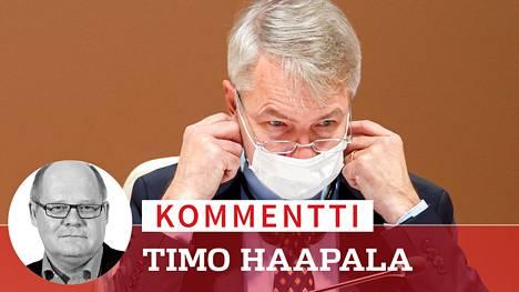 Perustuslakivaliokunta käsittelee Pekka Haaviston asiaa keskiviikkoaamuna.