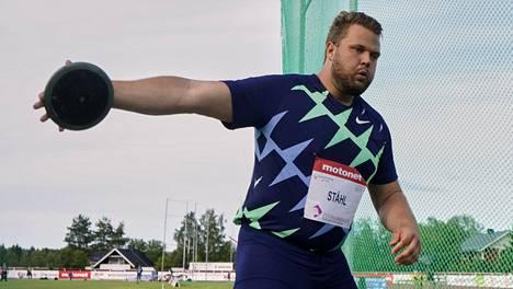 Ruotsalainen kiekkojätti Daniel Ståhl on yksi Turun kisojen vetonauloista.