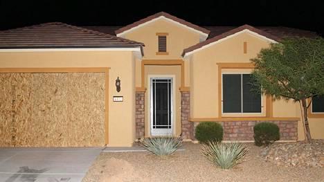 Tässä talossa Stephen Paddock asui.