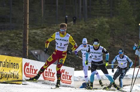 Joni Mäen selkä on tullut kilpakumppaneille tutuksi syksyn Suomen cupeissa.