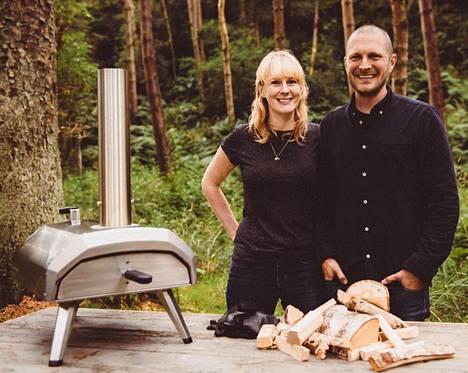 Kristian Tapaninaho asuu nykyisin Edinburghissa perheineen ja johtaa Ooni-yhtiötä.