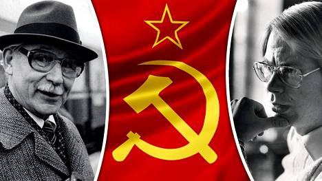 Viktor Vladimirov (vas.) oli Helsingin KGB:n päällikkö. Seppo Tiitisen mukaan tiiviisti Tehtaankadun kanssa asioinut taistolaisten aktiivi Jaakko Laakso (oik.) ei syyllistynyt vakoiluun.