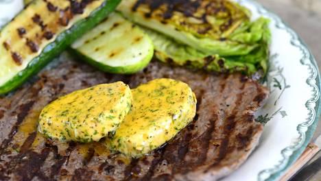 Kasvikset ovat hyvä lisuke grillipihville.
