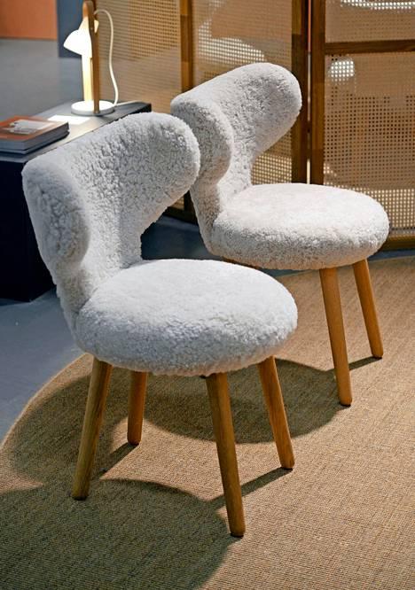 Suloiset WNG-nojatuolit ovat 1930-luvun suunnittelua, Mazo.