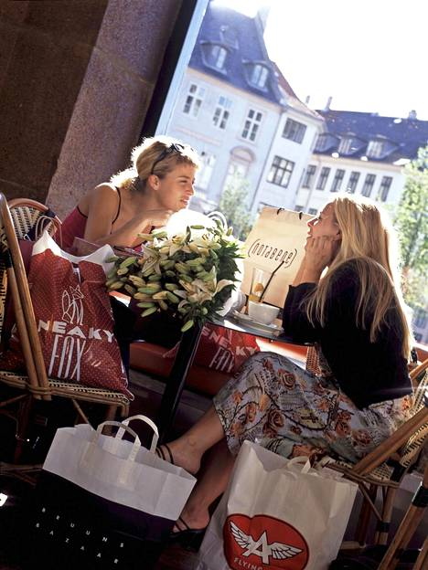 Kööpenhamina on kahvila- ja ravintolaparatiisi.