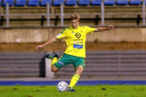 Nuori keskikenttäpelaaja oli viime kaudella Ilveksen ykköstykki yhdeksällä maalillaan.