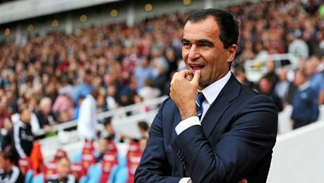 Roberto Martinez on tehnyt kovaa jälkeä Evertonissa heti avauskaudellaan.