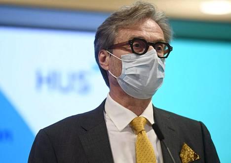 Husin Markku Mäkijärven mukaan ensimmäisten rokotteiden jakelussa noudatetaan samoja turvajärjestelyjä kuin muutenkin sairaaloiden turvallisuudessa.