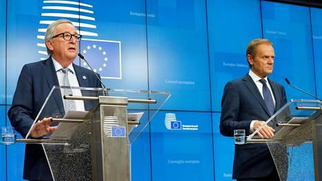 IS seurasi: EU-johtajat hyväksyivät lisäaikapyynnön brexitille – Sipilä: Erosopimuksen hylkääminen Britannian parlamentissa todennäköistä