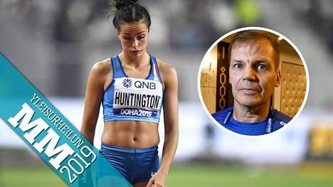 Maria Huntingtonin kisa Dohassa päättyi sairastumiseen.