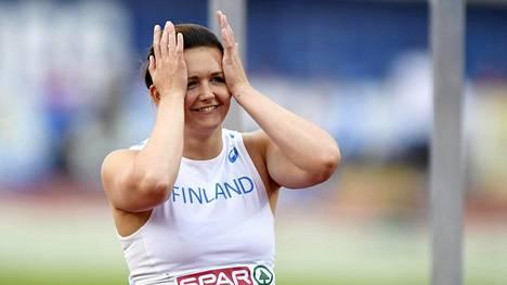 Jenni Kangas on heittänyt uransa parhaan kauden.