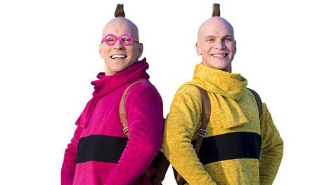 Tatu ja Patu eli Antti ja Riku.