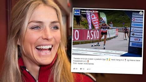 Therese Johaug on ollut vakuuttava päälajinsa kilpakauden ulkopuolellakin.
