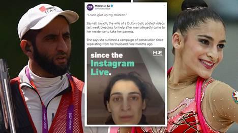 Sheikki Saeed bin Maktoum bin Rashid al-Maktoum on entinen olympia-ampuja. Puoliso Zeynab Javadli on puolestaan edustanut kotimaataan Azerbaidzhania voimistelukilpailuissa.