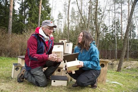 Pirkka-Pekka Petelius ja luontotoimittaja Minna Pyykkö ovat mukana kampanjassa, joka huipentuu sunnuntai-illan suorassa lähetyksessä.