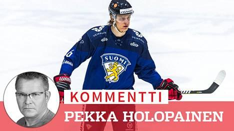 NHL-sopimuksen hiljattain tehnyt Tony Sund oli lähellä paikkaa Leijonien MM-joukkueessa.