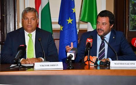 Viktor Orbán ja Matteo Salvini julistivat oman sotansa eurovaaleissa.