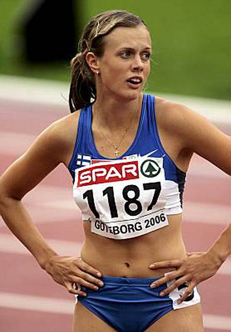 Myös Suomen tämän hetken nopein nainen, Sari Keskitalo, keräsi 7%25 äänistä.