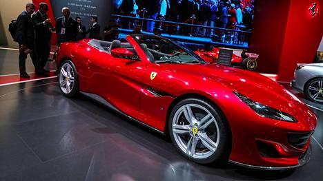 Uusi Portofino-malli sinetöi yhteistyön katkeamisen Pininfarinan kanssa.