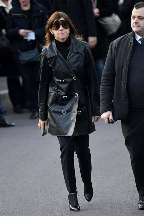 Carine Roitfeld on Vogue Paris'n entinen päätoimittaja.