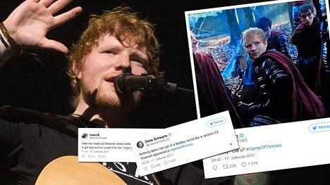 Laulaja Ed Sheeran poisti twittertilinsä negatiivisen palauteryöpyn jälkeen.