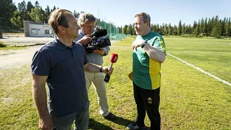 Risto Majaniemi ja Kari Ahola tekevät dokumenttia valmentaja Keith Armstrongin ja Ilveksen kaudesta.
