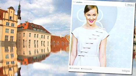 Piret Ilves toimii vaatesuunnittelijana Tallinnasta käsin.