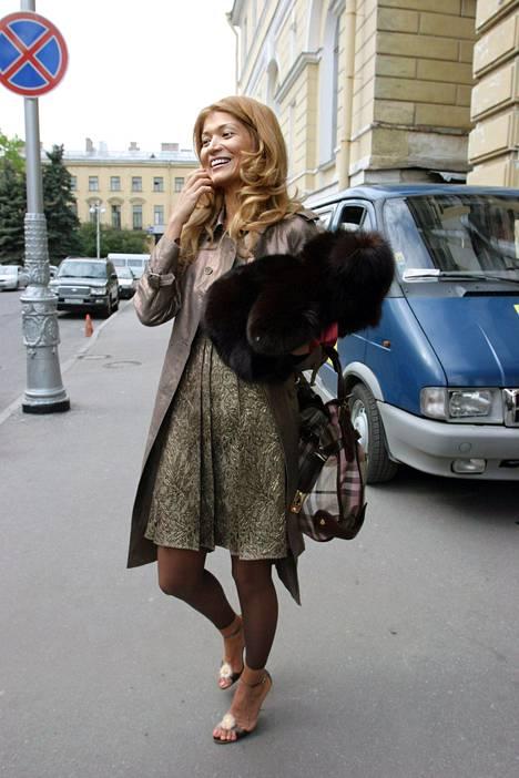 Gulnara Karimova kuvattuna Venäjällä kesäkuussa 2006.