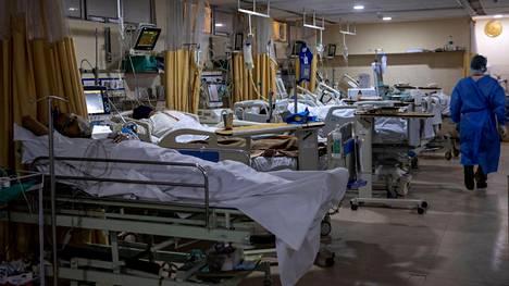 Intiassa maineikkaissakin sairaaloissa on kärsitty happipulasta.