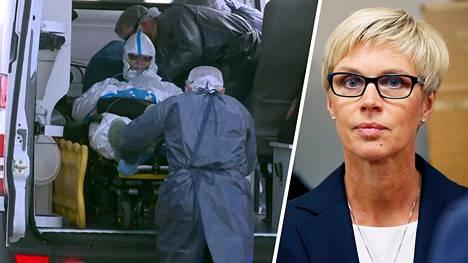 Kansanedustaja Veronica Rehn-Kivi (r) haluaisi yli 65-vuotiaille suomalaisille pneumokokkirokotuksen. Rokotus ei estäisi sairastumasta koronavirukseen, mutta se vähentäisi muutoin sairaalavuorokausia ja vapauttaisi resursseja.