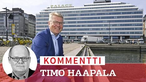 Kuusikymppinen Jyri Häkämies on johtanut EK:ta kohta kymmenen vuotta. Häämöttääkö miehen mielessä paluu takaisin politiikan kärkipaikoille?