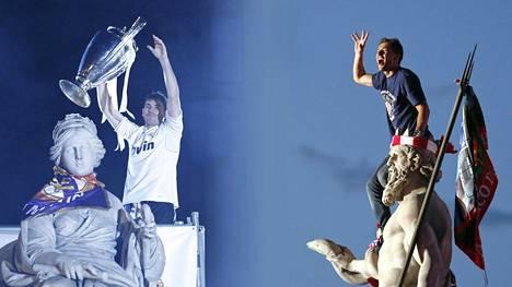 Madridissa juhlitaan lauantaina Mestarien liigan voittoa. Mutta ketkä juhlivat?