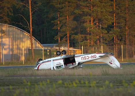 Onnettomuustutkintakeskus Otkes sai tiedon onnettomuudesta lauantai-iltana.