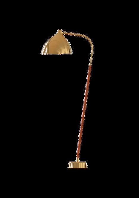 Jalkalamput ovat nyt in. Innoluxin Lisa-lattiavalaisin on Lisa Johansson-Papen suunnittelema Orno-designklassikko.