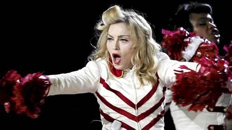 Madonna esiintyy Suomessa 12. elokuuta.