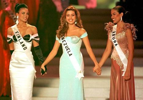 Lola Odusoga (vas.) jäi toisksi perintöprinsessaksi Alicia Machadon voittaessa.
