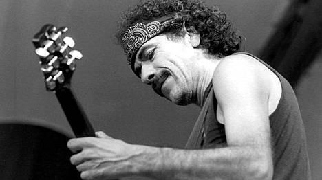 Carlos Santana Pori Jazz 1988
