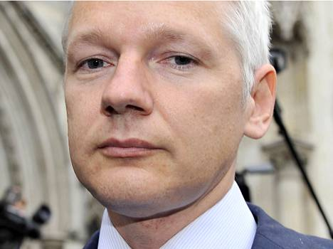 Julian Assange pidätetään, jos hän poistuu Lontoon lähetystöstä.