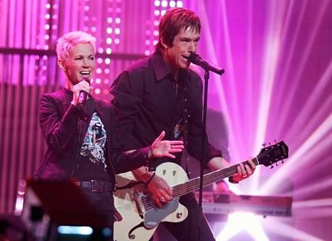 Marie Fredriksson ja Per Gessle perustivat Roxetten vuonna 1986.