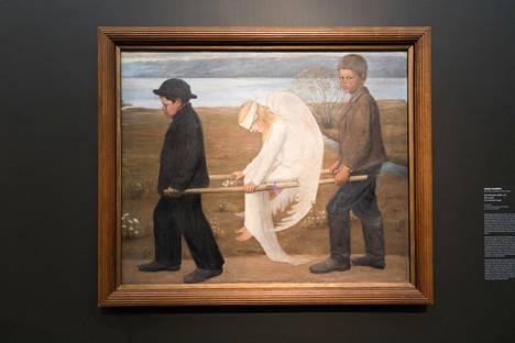 Hugo Simberg, Haavoittunut enkeli