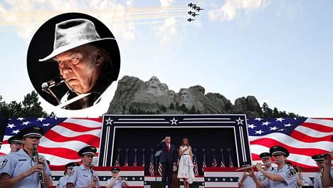 Neil Young paheksuu musiikkinsa käyttämistä Trumpin tilaisuuksissa.