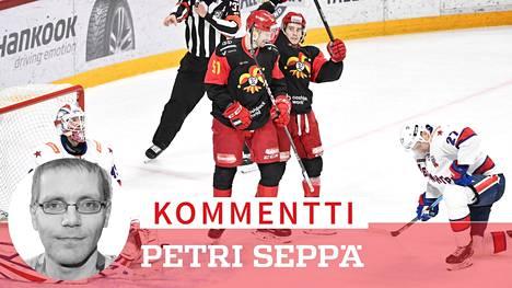 Hurjavireinen Jokerit taistelee KHL:n Bobrov-divisioonan voitosta.