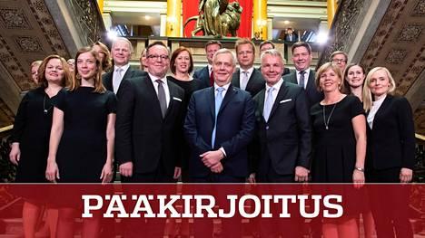 Antti Rinteen (sd) viiden puolueen hallituksen avustajamääräksi on budjetoitu noin 85.